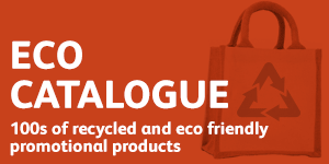 100s of recycled and eco friendly branded promotional product ideas